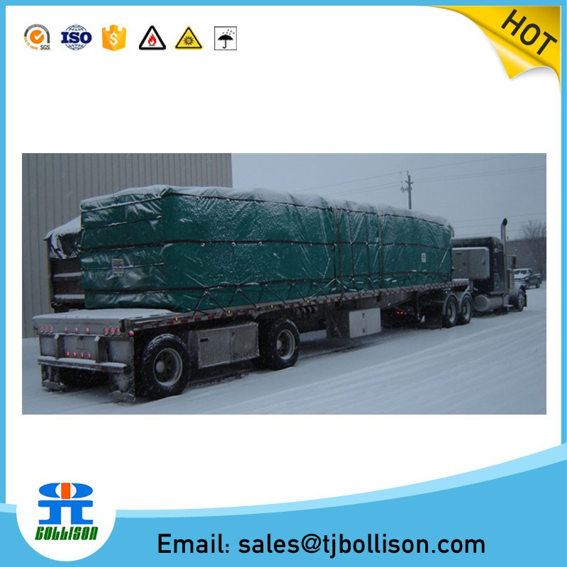 Custom Flatbed Truck Tarp Heavy Duty 18 Oz Lumber Tarp