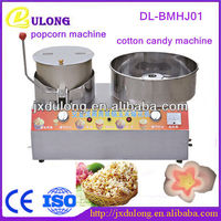 october 2013 stainless steel double use gas puffed rice cake machine and industrial cotton candy machine