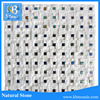 Yixing Factory Chinese Natural Split Surface Marble Mosaic Tile