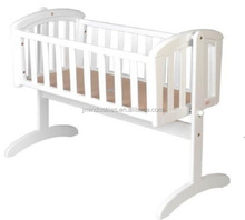 2014 Hot Sale Wooden Baby cradle swing bed