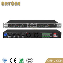 Broadcast with new design 8 Channel 100w 150w PA System intelligent power Amplifier