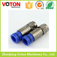 Brass and Zinc alloy pitch auto IDC f series connector