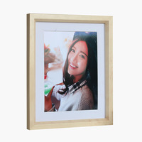 Cheap wholesale 8x10 inch picture frame with bevelled mirror edge of high quality