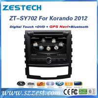 ZESTECH Factory car dvd manufactures car multimedia system for SSANGYONG Korando