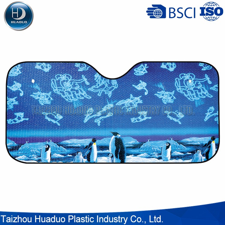 Top Quality High Quality Material Colorful Car Front Sunshades