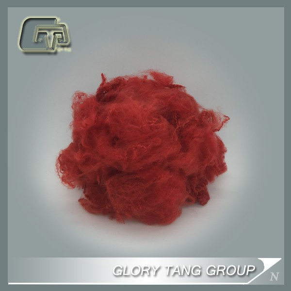 GTR301 hot sale dope dyed fiber for spinning