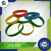 Hot selling silicone wristband bracelet for Easter
