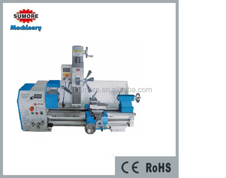 3 in 1 drill mill combo sp2330multi purpose lathe machine with CE