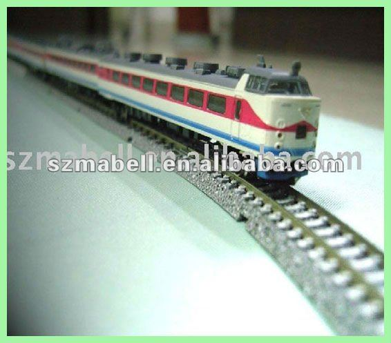 resin train model toy