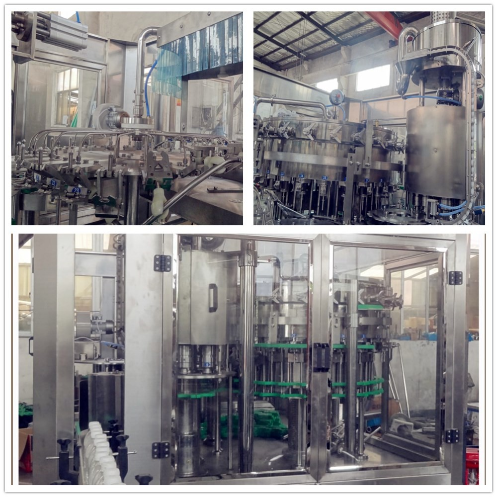 low noise carbonated drinks machinery meet filling technical requirements