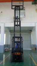 1.0-1.5T 4-Wheel Battery Forklift (DC Power)
