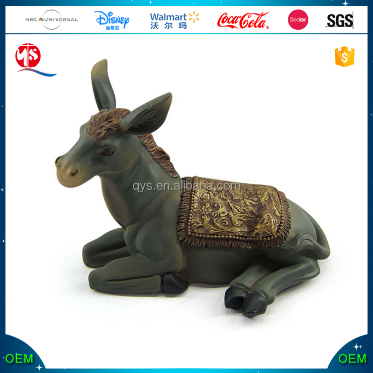 Handcrafted animal mule figurine