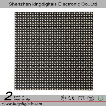 Indoor P5 Full Color SMD 3528 8 scan 32x32 pixels LED module