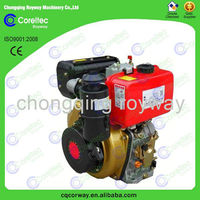 China Trustworthy Manufacturer 4 Stroke Air Cooled Recoil/Electric Start V-twin Cylinder 186FE Diesel Engine For Sale