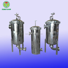 100% Polypropylene stainless steel ss 304 316 multi bag filter housing for industry water treatment