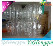 Factory Price PVC /TPU body ball inflatable bumper ball for kids and adult human sized hamster ball