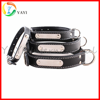 Personalized Pets Leather Dog Collar