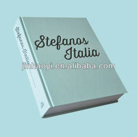 good and thick Photo Album Hardcover Book Printer in China