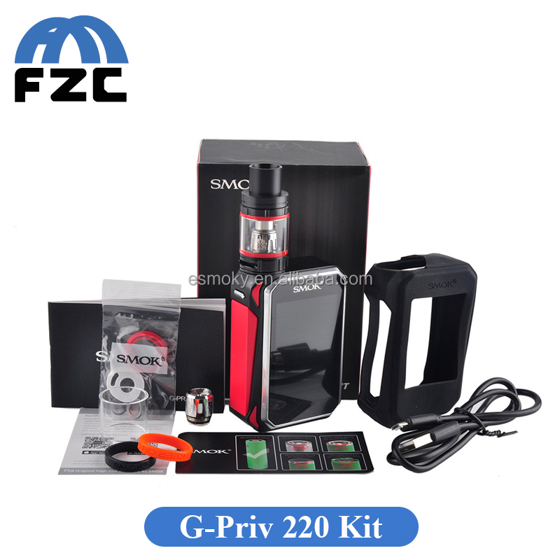 Fuzecheng Tech Wholesale Supplier SMOK G-Priv 220W TC Touch Kit Super Big 2.4 Inch OLED Touch Screen Smok G Priv