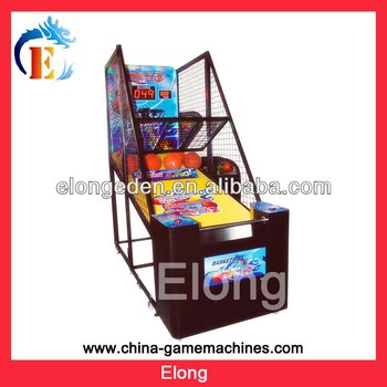Amuement Super Slam Dunk street basketball game machine