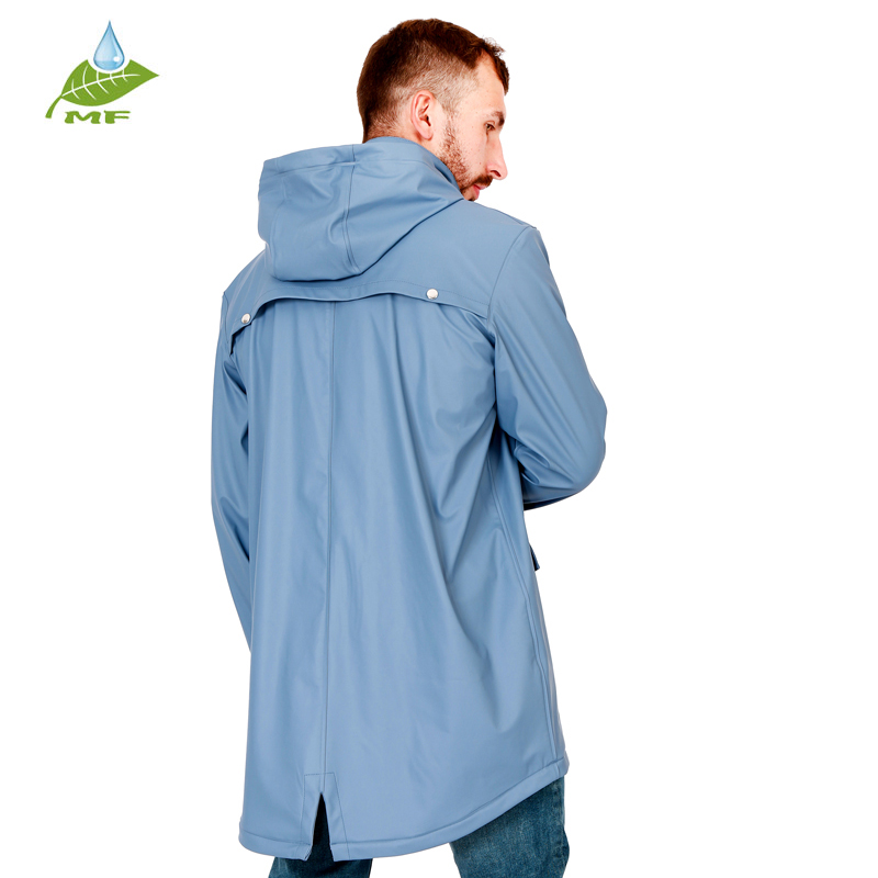 Fashionable and diverse hooded rain slicker