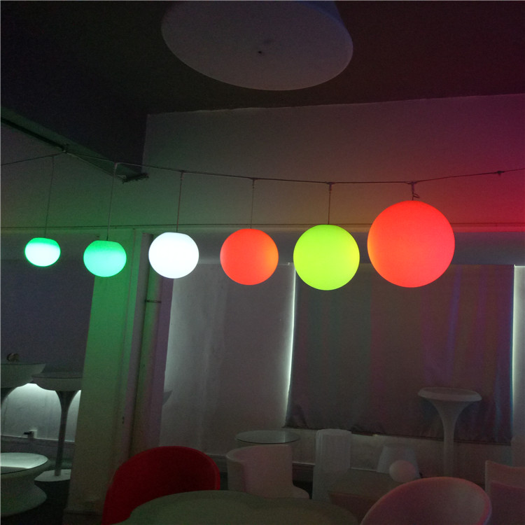 Shenzhen Promotion LED Lighting Swimming Pool RGB LED Round Ball Outdoor Light