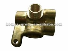 Forged brass blazing torch joints brass parts brass components