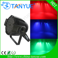 54*3W RGBW led DJ dance party stage lighting stage par lighting guangzhou packing