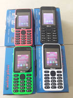Very Low Cost 1.8 inch Screen Dual SIM Phone Small Size Mobile Phones