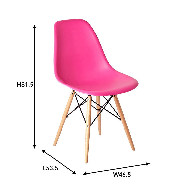 High Quality Cheap Plastic Dining ChairOutdoor Armless