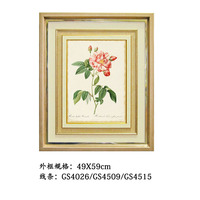 49X59CM Colorful cheap modern rose Picture Frame Art