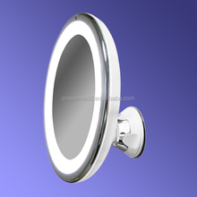 8-inch battery led light bathroom mirror bathroom mirror with light wall mount cosmetic mirror with light