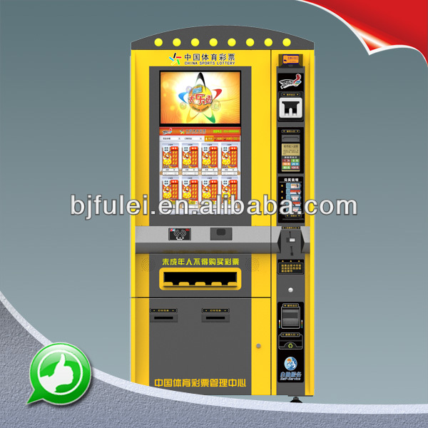 Cabinet instant ticket vending machine