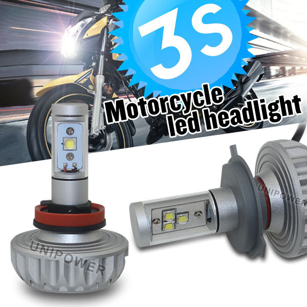 3000lm LED motorcycle headlight h4 h7