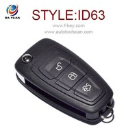 Original New remote key for Ford Focus 3 button Flip key control 4D63 434MHZ AK018047