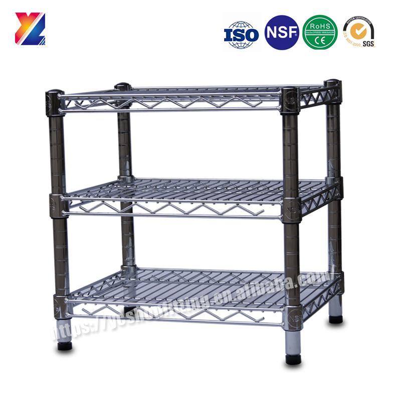 YC-W144 New design metal wire storage shelf, storage rack