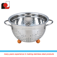 Stainless Steel Colander - French Designed Kitchen Stainless Steel Straine