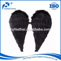 K2606 Handmade High Quality 31.5x31.5inch Large Goose Marabou Feather Wing For Party Decoration/ Feather Angel Wings Wholesale