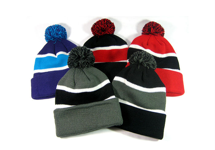 Pom Pom Beanies Trendy Winter Hats Wholesale.jpg