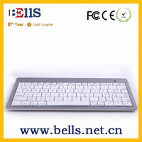 Mini bluetooth keyboard with patent design for ipad air iphone6s