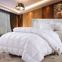 High Quality thick Hotel Used 400GSM Microfiber Filling White Quilt