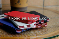 Lichee Pattern leather skin case for apple iphone5