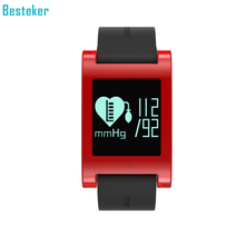 Besteker DM68 Waterproof Heart Rate Monitor Bluetooth Intelligent Bracelet Wireless Blood Pressure Monitor k88h Smart Watch