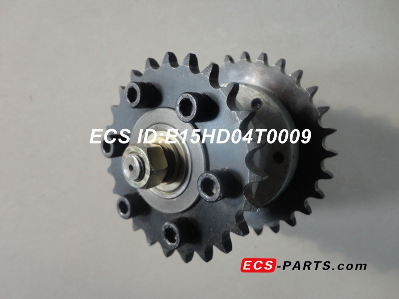 Escalator CX Drive Sprocket of Hitachi Upper teeth  Buttom teeth  ori-width=