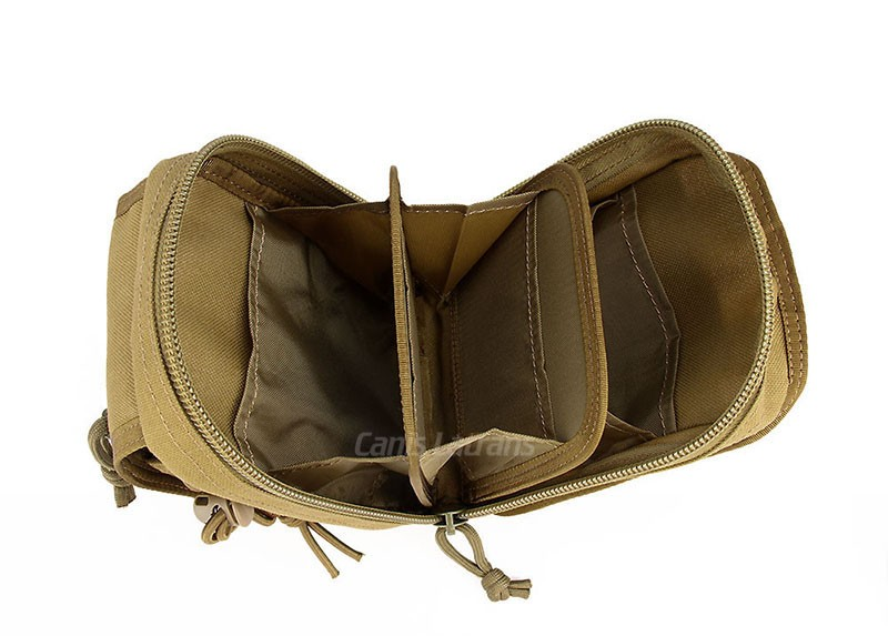 1000D Nylon Waterproof Fabric Tactical Military Molle Radio Small Pouch Army Waist Belt Little Molle Utility Pouch