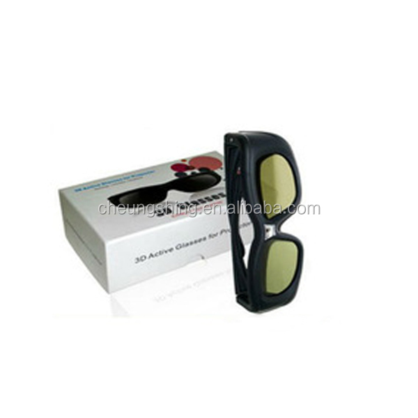 China factory wholesale for TV and projector dlp link 3d shutter glasses
