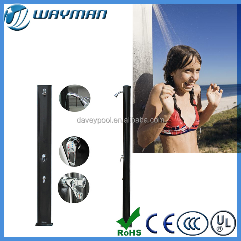 Widely used in swimming&sports outdoor entertainment pool heat solar shower