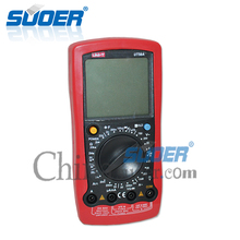 Suoer Portable USB Digital Multimeter LCD Display Multimeter with CE
