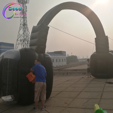 Headset!!! 8*4,Replica advertising Inflatable/Arch/Archway/Arch Door/For Promotional with lighting