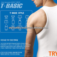 stt01 mans' underwear top korea brand/MOQ 100 100% cotton